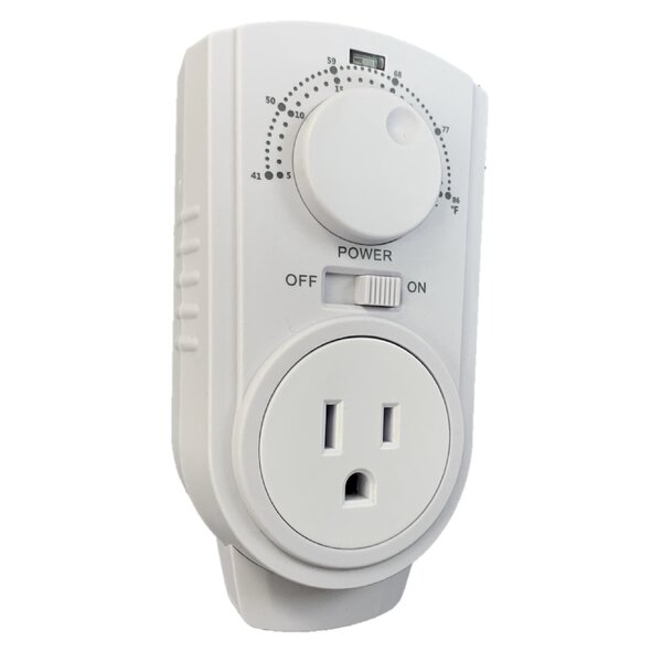 Review Wexstar White Non-Programmable Thermostat