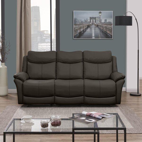 Jabari 3 Seat Wall Hugger Reclining Sofa by Red Barrel Studio