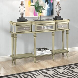 Compare Poston 3 Drawer Console Table By Willa Arlo Interiors
