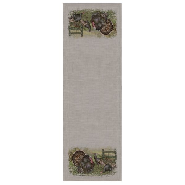 Wild Turkey Table Runner by Heritage Lace