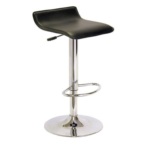 Spectrum Adjustable Height Swivel Bar Stool by Winsome