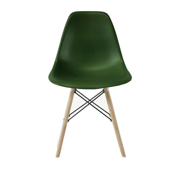 Hanshaw Modern Kids Chair with Natural Legs by Zoomie Kids
