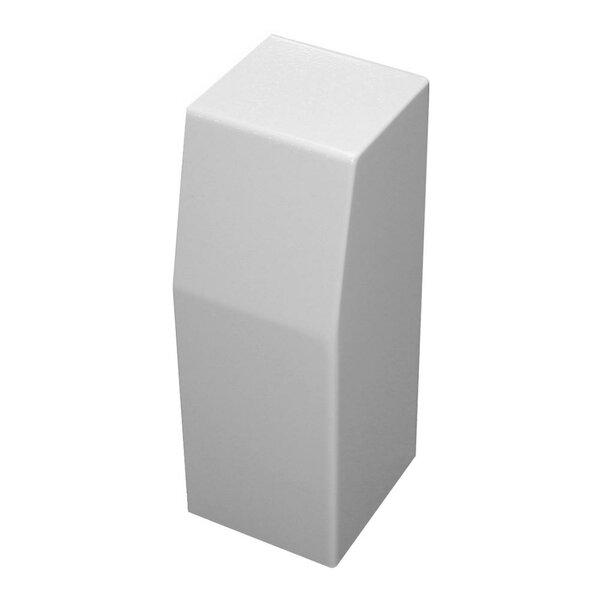 Premium Series Outside 90-Degree Corner Steel Easy Slip-On Baseboard Heater Cover By Baseboarders