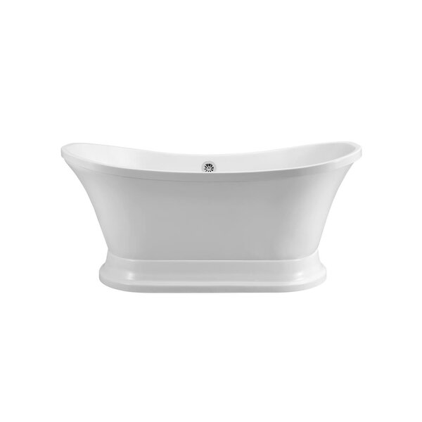 68 x 34 Freestanding Soaking Bathtub by Streamline Bath