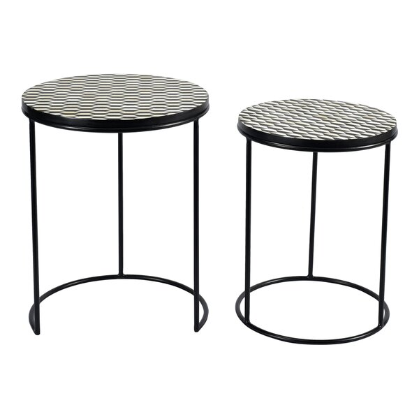 Adena 2 Piece Nesting Tables by Brayden Studio Brayden Studio