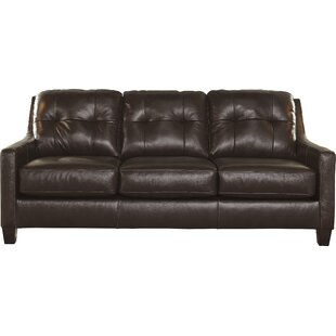 Stouffer Leather Sleeper Sofa