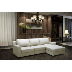 Leather Sleeper Sectional  sc 1 st  AllModern : sectional couch with sleeper - Sectionals, Sofas & Couches