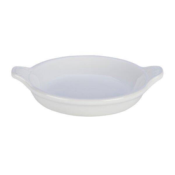 Stoneware Oval Heritage Crème Brûlée Dish by Le Creuset
