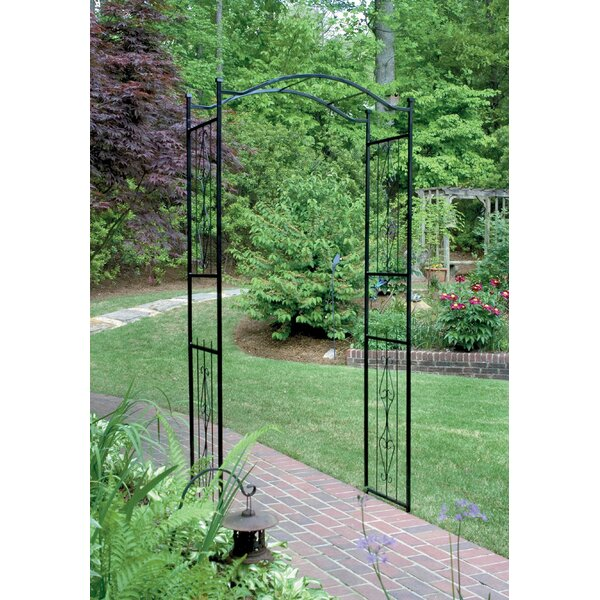 Charlestown Steel Arbor by Gardman