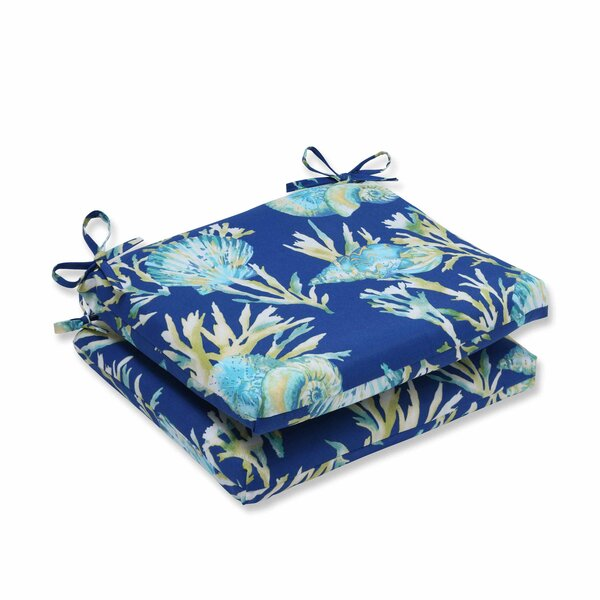 Earleville Indoor/Outdoor Dining Chair Cushion (Set of 2)