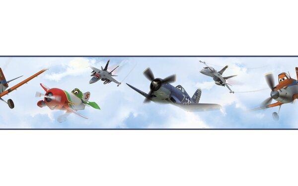 Walt Disney Kids II Planes in The Clouds 9 Border Wallpaper by York Wallcoverings