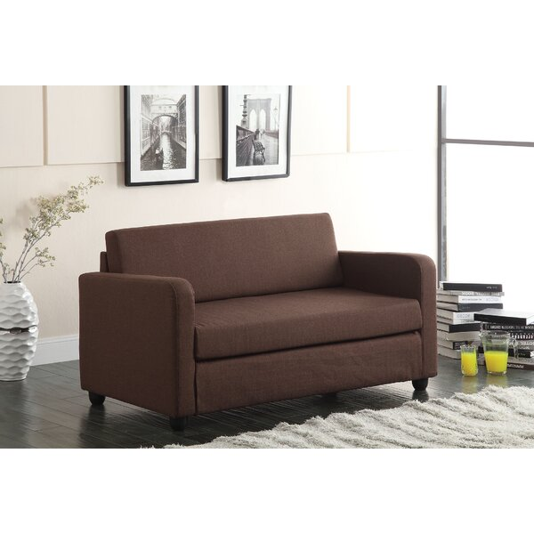 Get Valuable Conall Sleeper Loveseat by A&J Homes Studio by A&J Homes Studio