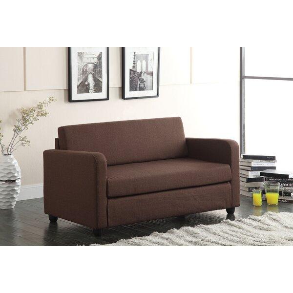 Fine Brand Conall Sleeper Loveseat by A&J Homes Studio by A&J Homes Studio