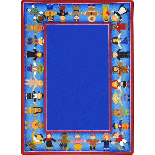 Tufted Blue Area Rug by The Conestoga Trading Co.