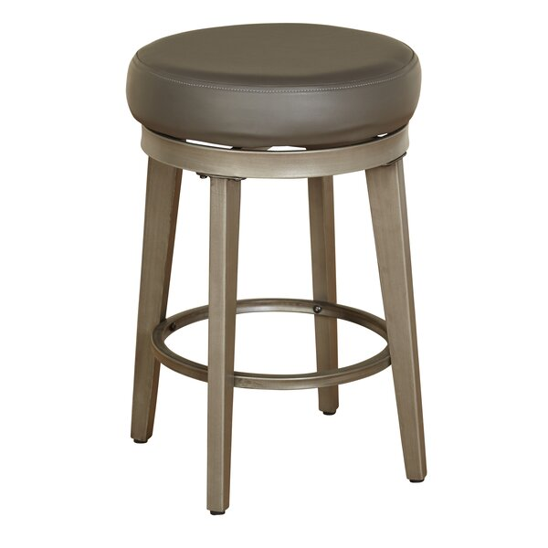 24.5 Swivel Bar Stool (Set of 2) by angelo:HOME