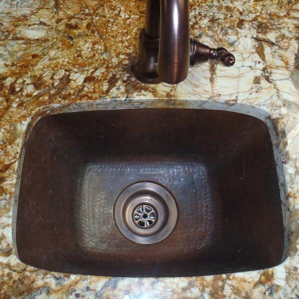 17 L x 12 W Cordoba Bar Sink by Novatto