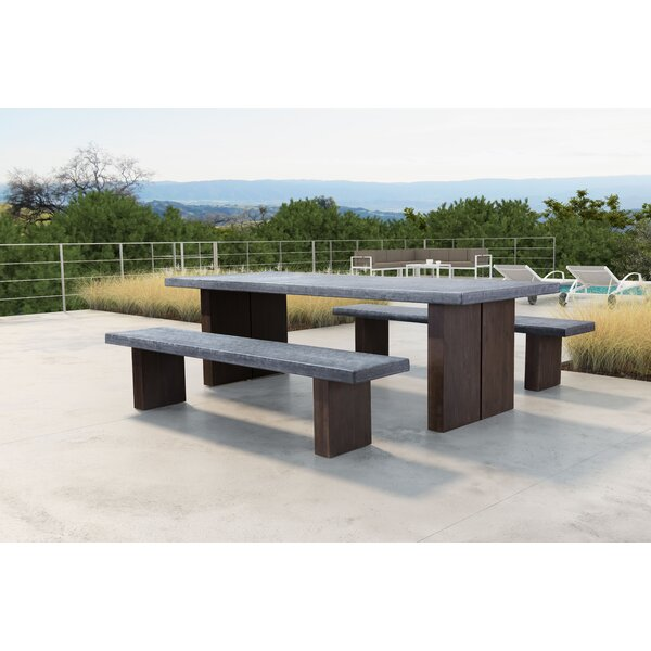 Barbury Wooden Garden Bench By 17 Stories