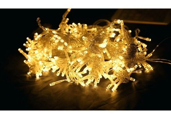 Battery Operated 100 LED String Lights by The Holiday Aisle