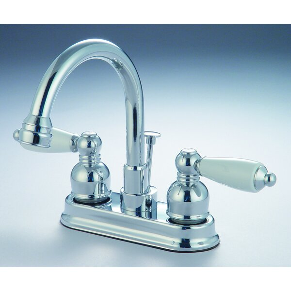 Double Handle Bar Faucet by Hardware House