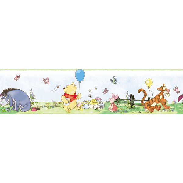 Room Mates Deco Winnie The Pooh Border Wallpaper by Room Mates