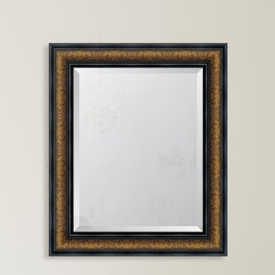 Bronze with Black Trim Resin Frame Wall Mirror by Melissa Van Hise