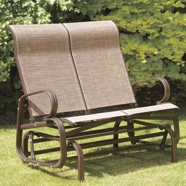 Havana Twin Seat Bench Glider by SunTime Outdoor Living