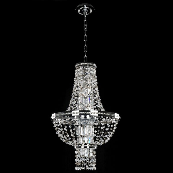 Mathis 4-Light Unique / Statement Empire Chandelier by House of Hampton House of Hampton