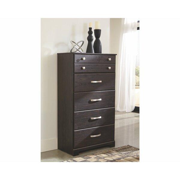 Heckman 6 Drawer Standard Dresser/Chest by Charlton Home