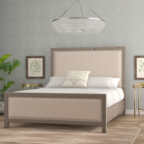 Aguirre Upholstered Low Profile Standard Bed by Lark Manor Lark Manor