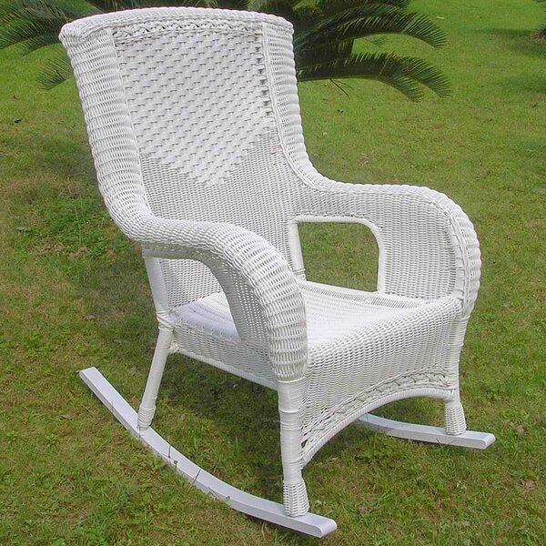 Wellington High Back Patio Rocking Chair By Birch Lane™ Heritage by Birch Lane™ Heritage Looking for