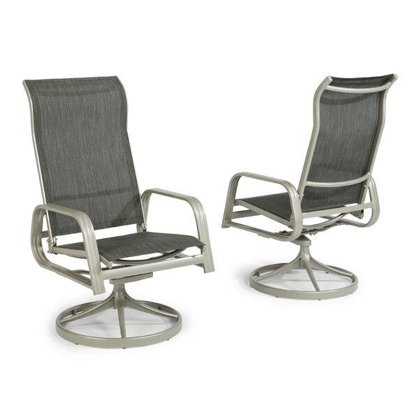 Dinan Swivel Gliding Chair by Red Barrel Studio