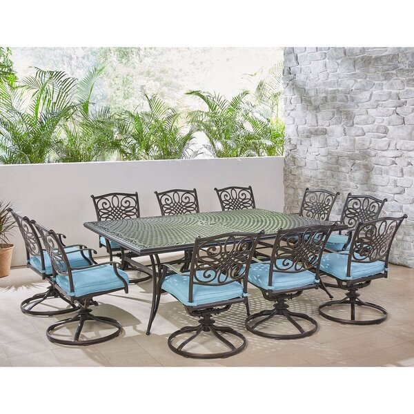Riccardi Traditions 11 Piece Dining Set by Astoria Grand