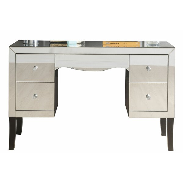 Evander Wooden Framed Mirrored Vanity By Rosdorf Park by Rosdorf Park Purchase