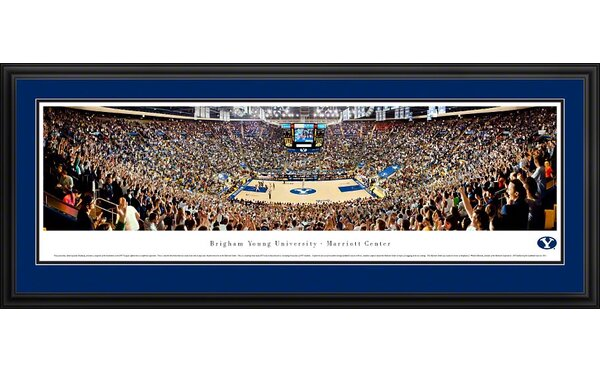 NCAA Basketball Deluxe Framed Photographic Print by Blakeway Worldwide Panoramas, Inc