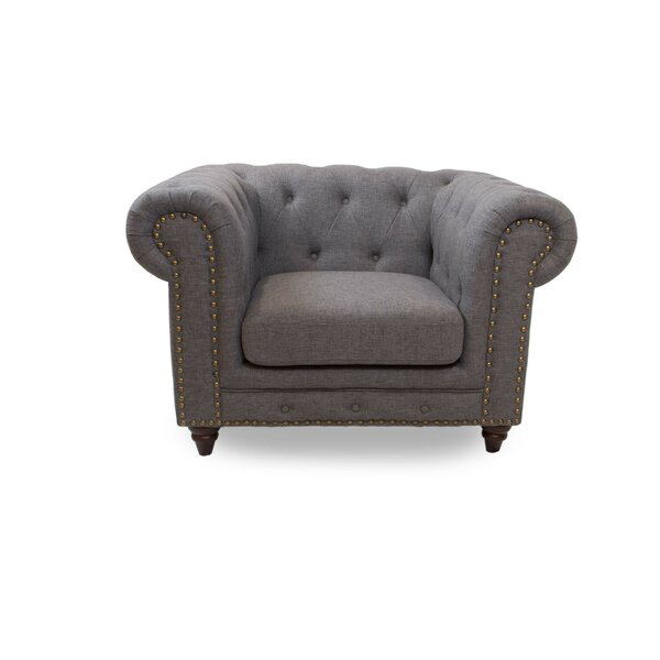 Kratz Chesterfield Chair by House of Hampton