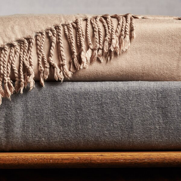 Auden Cashmere Rayon from Bamboo Premium Throw by Eider & Ivory