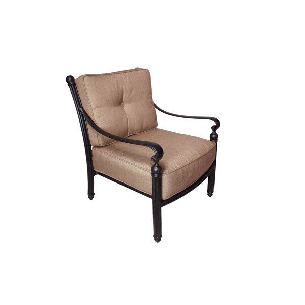 Baldwin Deep Seating Club Chair with Sunbrella Cushions by California Outdoor Designs