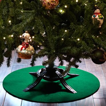 Christmas Tree Stand Mat By The Original Grillpad.