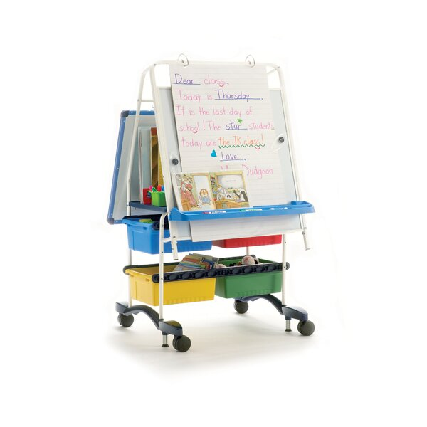 Royal Reading/Writing Center Mobile Board Easel by Copernicus