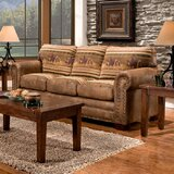 Charlie Cotton 90 Round Arm Sofa by Millwood Pines