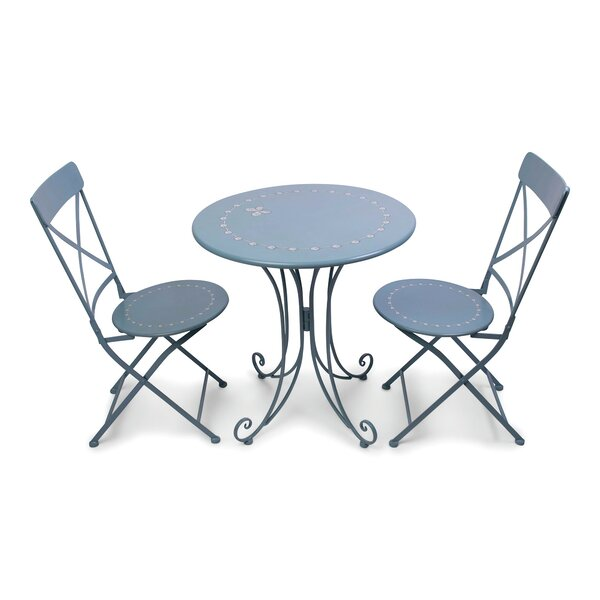 Jahnke 3 Piece Bistro Set by August Grove
