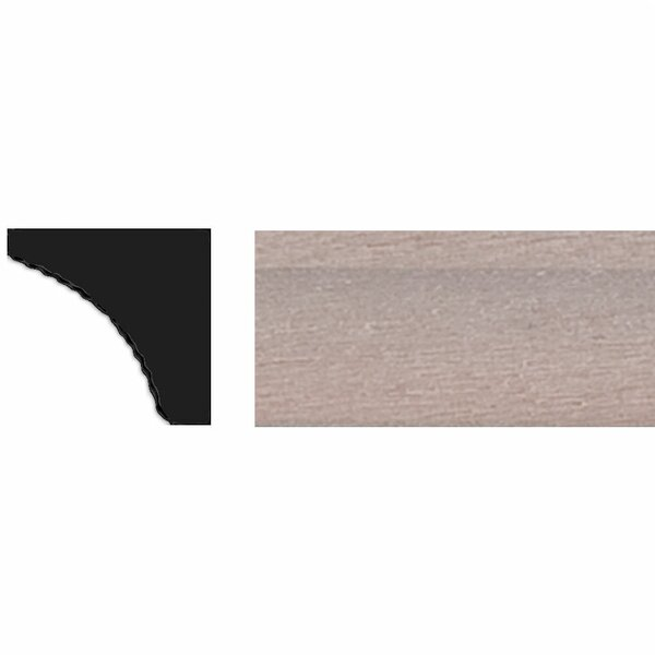 3/8 in. x 3/8 in. x 4 ft. Tinytrim Basswood Cove Moulding by Manor House
