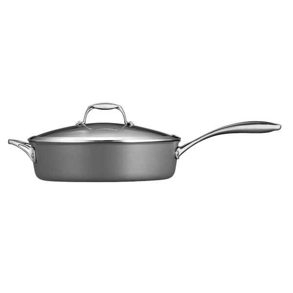 Gourmet Hard Anodized 5.5-qt. Saute Pan with Lid by Tramontina