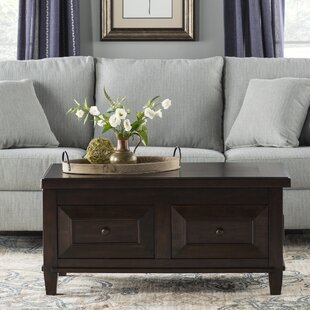 Edmondson Coffee Table with Lift Top Three Posts