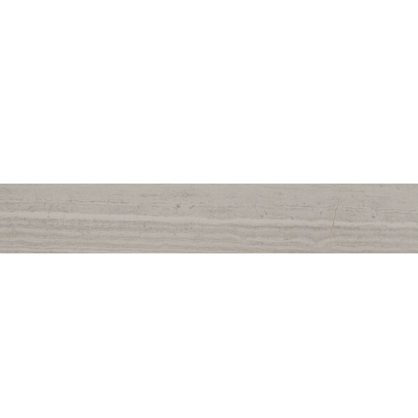 Coastline Monterey 4 x 24 Porcelain Field Tile in Gray by Madrid Ceramics