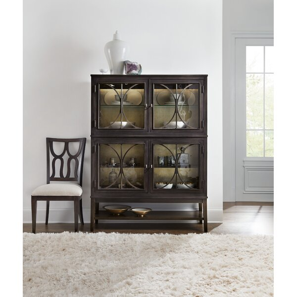 Curvee Lighted China Cabinet By Hooker Furniture 2019 Sale