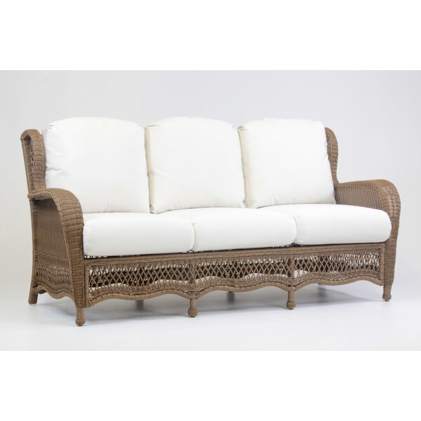 Stoneburner Sofa with Cushion by Bay Isle Home