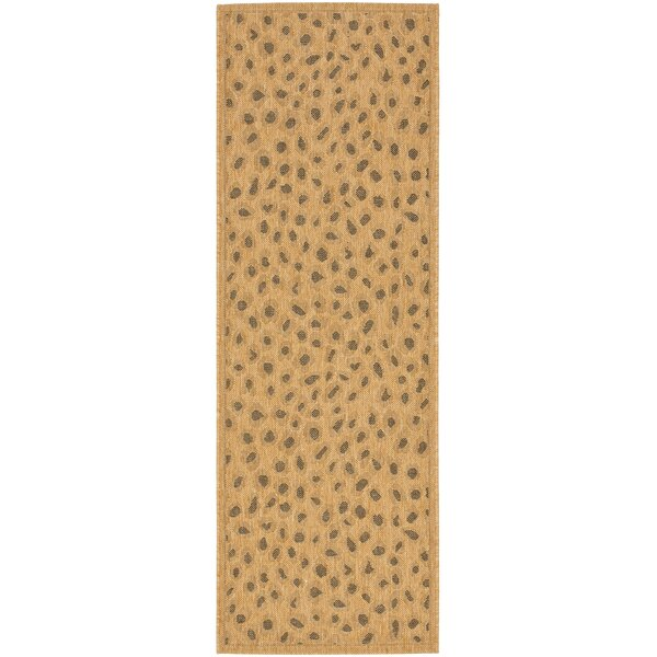 Catori Gold Outdoor Rug by World Menagerie