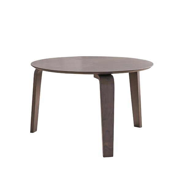 Escamilla Mid-Century Solid Wood Dining Table by George Oliver