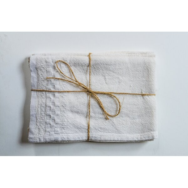 Hotel Dobby Linen Hand Towel by Couleur Nature